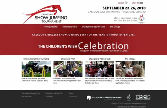Canadian Show Jumping Tournament
